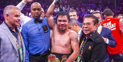 Pacquiao Beats Thurman By Split Decision, Becomes Oldest Welterweight Champion in History