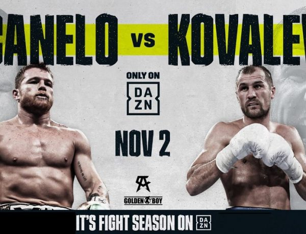 Kovalev and Canelo Announce Surprise Megafight for November 2nd