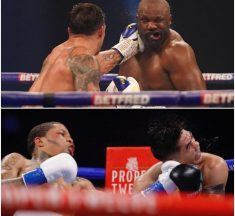 Usyk Weathers Early Storm to Oupoint Chisora, Davis Gets Sensational Knockout Against Santa Cruz